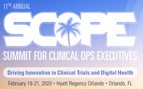 SCOPE Summit for Clinical Operations Executives